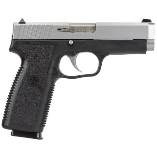 "Kahr CT9 9mm 4"" Barrel W/Combat Rear Sight 7+1 Black/Stainless CT9093"