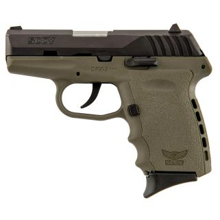 SCCY CPX2CBDE 9MM 3.1 CRB NMS 10 DKERT