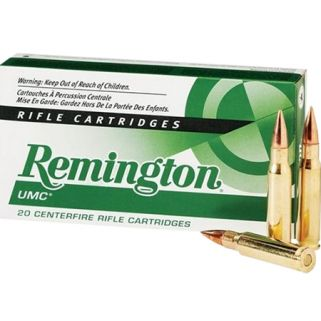 Remington UMC 300 AAC Blackout/Whisper 120 Grain Brass 20 Round Box L300AAC1