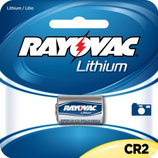 RAY RLCR2-1 LITH BATTERY #CR2 3V VLT
