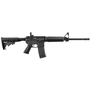 "Ruger AR-556 223 Remington/5.56NATO 16.1"" Barrel 30+1 Black Stack/Black 8500"