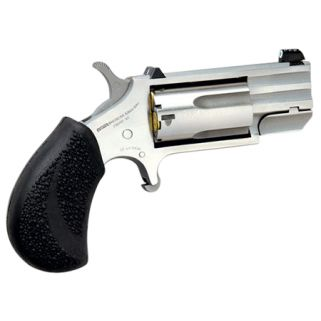 "NAA PUG 22 Magnum 1"" Ported Barrel W/ XS White Dot Sights 5Rd Black Rubber Pebbled Grip/Stainless PUGDP"