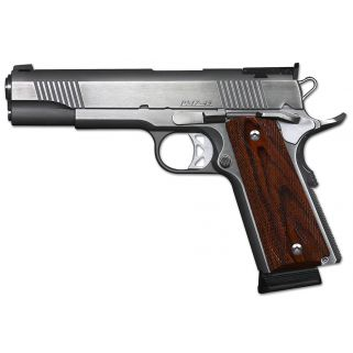 "Dan Wesson 1911 Pointman Seven 45ACP 5"" Barrel W/ Adjustable Sights 8+1 Wood Grip/Stainless 01900"