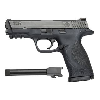"Smith & Wesson M&P 9mm 4.25""/4.7"" Threaded Barrel W/ Low Profile Carry Rear Sight 17+1 150922"