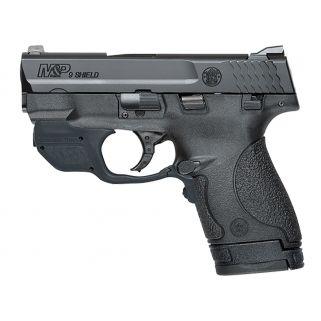 """Smith & Wesson M&P Shield 9mm 3"""" Barrel W/ Crimson Trace Green Laserguard 7+1/8+1 10141"""