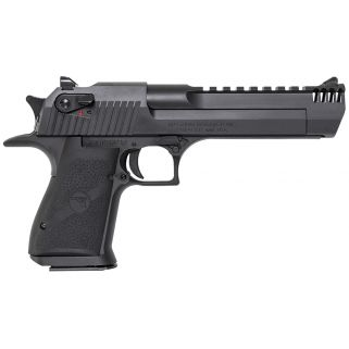 "Magnum Research Desert Eagle 357 Magnum 6"" Barrel W/ Combat-Fixed Sights-Integral Muzzle Brake 9+1 Black Oxide DE357IMB"