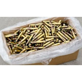 Federal XM855 5.56mm 62 Grain Green Tip Penetrator Ammo 1,000 Round Loose Pack Case