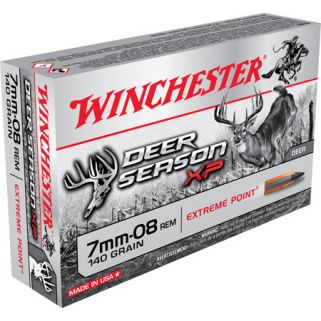 Winchester Deer Season XP 7mm-08 Remington 140 Grain 20 Round Box X708DS