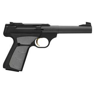 """Browning Buck Mark Camper 22LR 5.5"""" Barrel W/ Pro Target Sights 10+1 Gray Grips/Matte Black 051498490"""