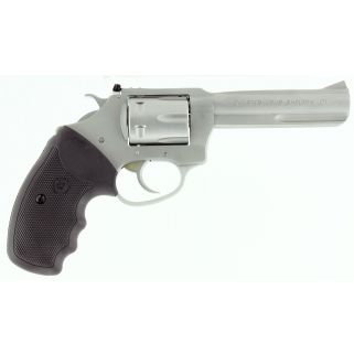 "Charter Arms Pathfinder 22LR 4.2"" Barrel W/ Adjustable Sights 6Rd Black Rubber Grip/Stainless 72242"