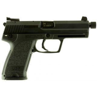 "Heckler & Koch USP Tactical 9mm Luger 4.9"" Barrel 10+1 2 Mags 709001TA5"
