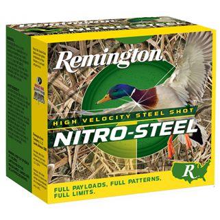 """Remington Nitro Steel 10 Gauge 2 Shot 3.5"""" 25 Round Box NSI10M2"""