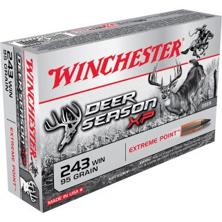 Winchester Deer Season 243WIN 95 Grain 20 Round Box X243DS