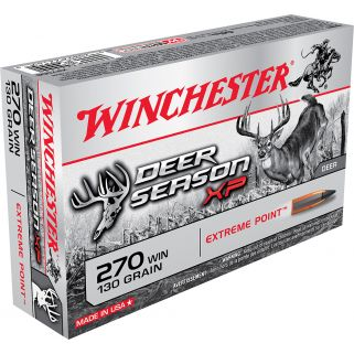 Winchester Deer Season XP 270WIN 130 Grain 20 Round Box X270DS