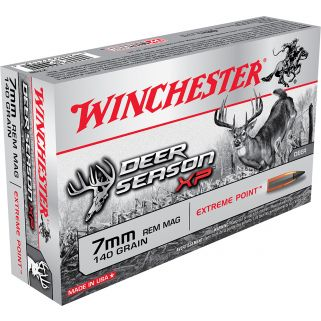 Winchester 7mm Remington Magnum 140GR 20Rd Box X7DS