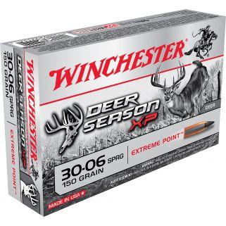 Winchester Deer Season XP 30-06 Springfield 150 Grain 20 Round Box X3006DS