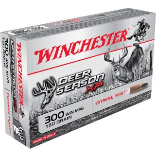 Winchester Deer Season XP 300WIN Magnum 150 Grain 20 Round Box X300DS