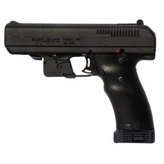 "Hi-Point 45ACP 4.5"" Barrel W/ Adjustable Sights 10+1 LaserLyte Trigger Guard-Black 34510LLTGM"