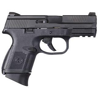 "FN FNS-9C 9mm 3.75"" Barrel W/ 3 Dot Sights 12+1/17+1 Black 66719"