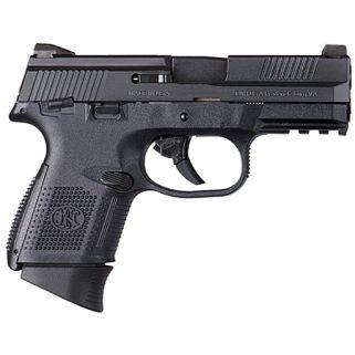 "FN FNS-9C 9mm 3.6"" Barrel W/ 3 Dot Sights 12+1/17+1 Black 66770"