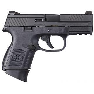 "FN FNS-9C 9mm 3.6"" Barrel W/ 3 Dot Sights 10+1 Black 66694"