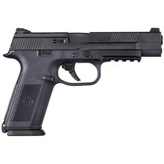 "FN FNS-40C 40S&W 5"" Barrel W/ 3 Dot Sights 10+1 Black 66704"