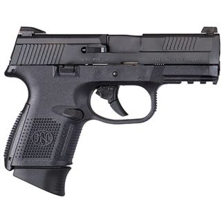"FN FNS-40C 40S&W 3.6"" Barrel W/3 Dot Sights 10+1 Black 66696"
