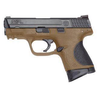 "Smith & Wesson M&P Compact 40S&W 3.5"" Barrel 10+1 Flat Dark Earth/Black 10190"