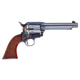 "Taylor's & Co Short Stroke Gunfighter 45 Colt 5.5"" Barrel W/ Blade Front Sights 6Rd Walnut Grip/Blued 556208DE"