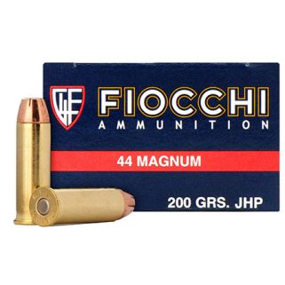 Fiocchi Shooting Dynamics 44 Magnum 200 Grain SJHP 50 Round Box 44B500