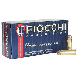 Fiocchi Shooting Dynamics 44 Magnum 240 Grain JHP 50 Round Box 44D500