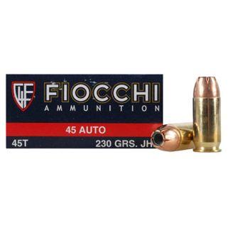 Fiocchi Shooting Dynamics 45ACP 230 Grain JHP 50 Round Box 45T500