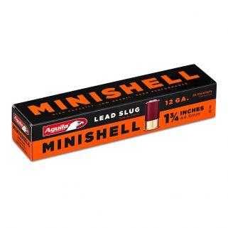 "Aguila Minishell 12 Gauge Slug Shot 1.75"" 20Rd Box 1C128974"