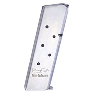 Auto-Ordnance 1911 45ACP Magazine 7Rd Stainless Removable Baseplate G21S