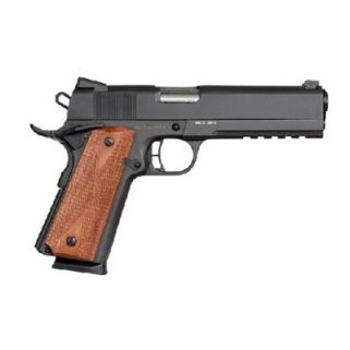 "Rock Island 1911 Tac Series 45ACP 5"" Barrel W/ Fixed Sights 8+1 Black Rubber Grip/Parkerized 51484"