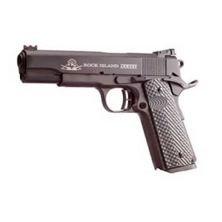 "Rock Island 1911 Ultra FS 45ACP 5"" Barrel W/ Adjustable Sights 8+1 VZ Tactical Grip/Parkerized 51486"