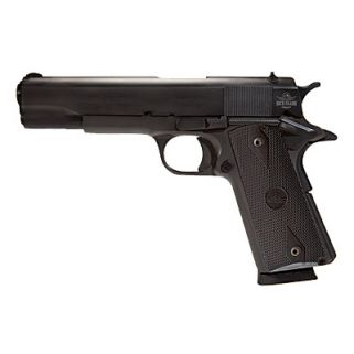 "Rock Island 1911 Standard FS GI 38 Super 5"" Barrel W/ Fixed Sights 9+1 Wood Grip/Parkerized 51815"