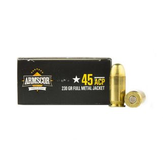 Armscor 45ACP 230 Grain JHP 20 Round Box AC45A10N