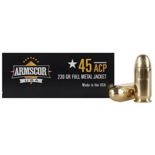 Armscor 45ACP 230 Grain FMJ 50 Round Box FAC4512N