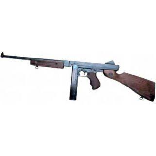 """Auto-Ordnance Thompson M1 45ACP 16.5"""" Barrel W/ Blade-Fixed Sights 30+1 Walnut Stock/Black TM1"""