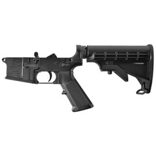 Bushmaster AR Lower 223 Remington/5.56NATO Black 92952