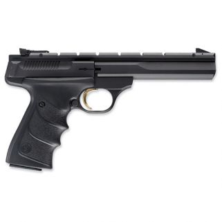 "Browning Buck Mark 22LR 5.5"" Barrel W/ Pro-Target Sights 10+1 Textured Grips/Black 051421490"