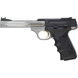 "Browning Buck Mark Light 22LR 5.5"" Barrel W/ TruGlo Fiber Optic-Pro Target Rear Sights 10+1 Matte Black/Matte Gray 051500490"
