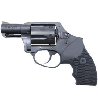 "Charter Arms Undercover 38 Special 2"" Barrel W/ Fixed Sights 5Rd Black Rubber Grip/Blued 13811"