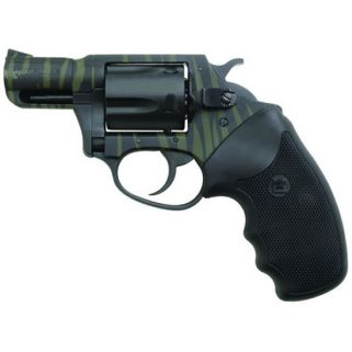 "Charter Arms Undercover 38 Special 2"" Barrel W/ Fixed Sights 5Rd Black Rubber Grip/Green-Black Stripes 13825"