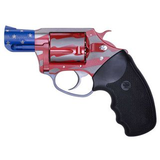 "Charter Arms Undercover The Old Glory 38 Special 2"" Barrel W/ Fixed Sights 5Rd Black Rubber Grip/Patriotic 23872"