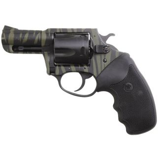 "Charter Arms Bulldog Tiger 44 Special 2"" Barrel W/ Fixed Sights 5Rd Black Rubber Grip/Green-Black Stripes 24420"