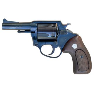 "Charter Arms Classic Bulldog 44 Special 3"" Barrel W/ Fixed Sights 5Rd Wood Grip/Blued 34431"