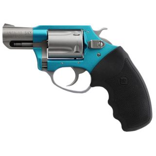 "Charter Arms Undercover Lite Santa Fe 38 Special 2"" Barrel W/ Fixed Sights 5Rd Black Grip/Turquoise-Stainless 53860"