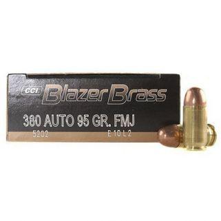 BLAZER BRASS 380ACP 95GR FMJ 50/20